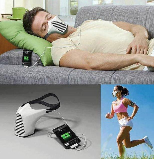 Carga la bateria del movil respirando