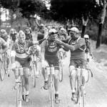 Fumando en el primer Tour de Francia