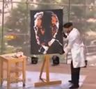 Pinta cuadros al reves y en segundos