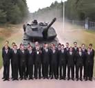 Probando el freno de emergencia de un tanque