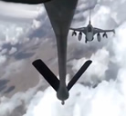 Reabastecimiento en vuelo sobre Afganistan