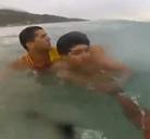 Rescate en alta mar de un niño de 12 años