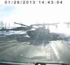 El peligro de las carreteras rusas