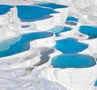 Pamukkale, un castillo de algodón natural