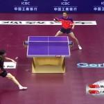 El punto más espectacular de ping pong